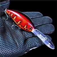 1Pcs Crankbait Wobblers pesca 17.5g 11.5 centimetri artificiale Crank Bait Bass Richiamo di pesca luccio di pesca a traina pesca pesca alla carpa affrontare
