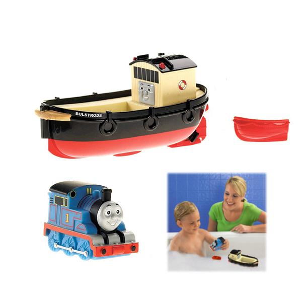 D1016 Envío libre de Thomas y sus amigos jugando en el agua baño de barco barco baby shower gift boxes con juguetes para los niños