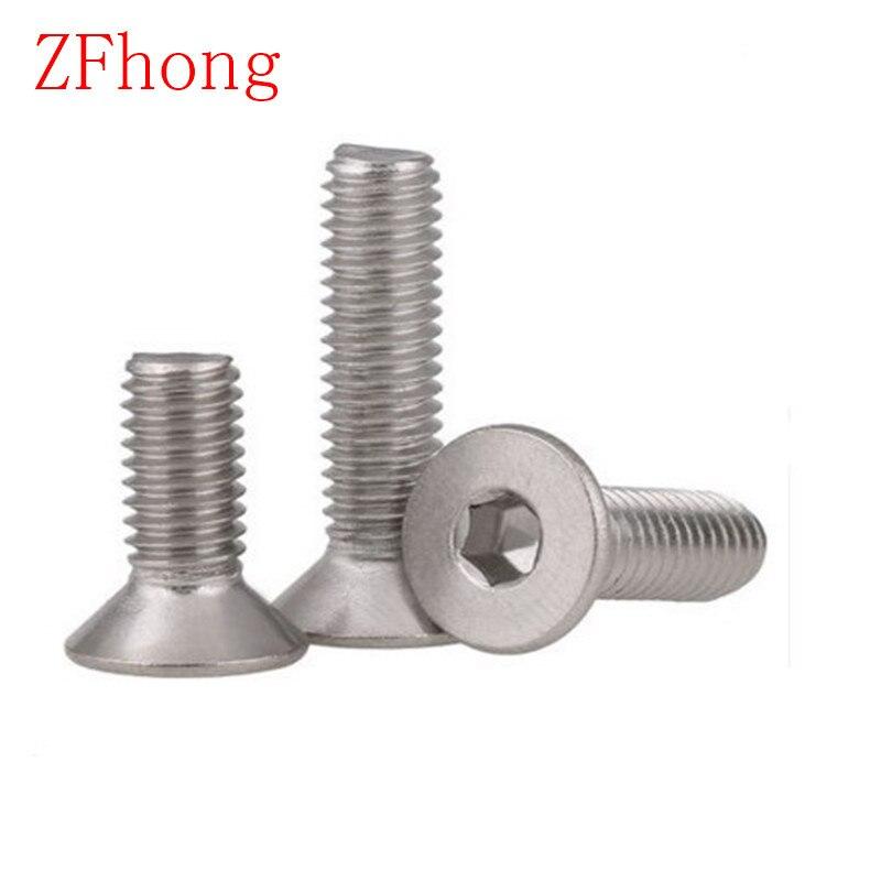 RTing M6x8 Flat Torx Head Machine Screw Fastener,Alloy Steel Torx Screws for Woodworking,Pack of 10
