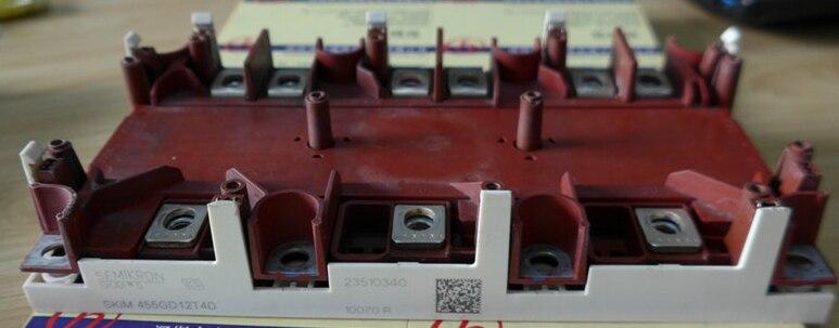 SKM455GD12T4D    Power Modules   - FREESHIPPING