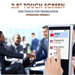 Image 4 - Translaty קול מתורגמן מיידי 75 חכם נייד אנגלית שפה אינטליגנטי קול מתרגמים בו זמנית מכונה מכשיר