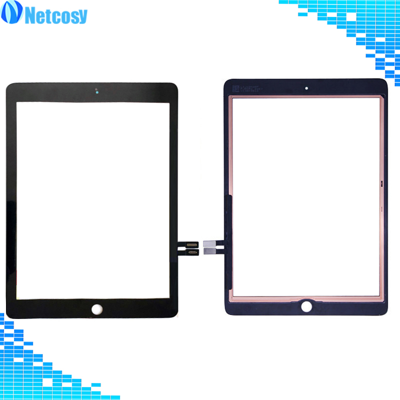 A1893 A1954 For ipad 9.7 2018 Touch Screen glass Digitizer panel replacement For iPad 6 6th Gen A1893 2018 Version Touchscreen 5pcs lcd display screen for ipad 9 7 2018 version a1893 a1954 for ipad 6 6th gen lcd outer glass panel replacement dhl free