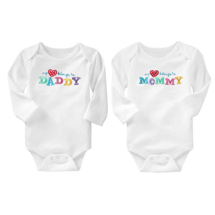 2pcs Lot Baby Clothes 2017 Newborn Baby Boy Girls Clothes Jumpsuit Long Sleeve Infant Product Solid
