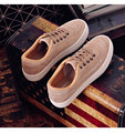 Free shipping 2017 New Arrival Women Leather Platform Shoes Concept Trendy Pig Suede Casual Outdoor Lacing Shoes  Size 35~39