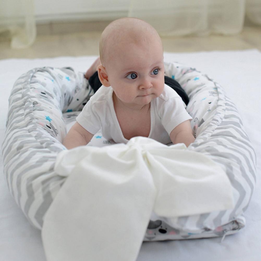 Bébé nid lit berceau Portable amovible et lavable lit de voyage pour enfants bébé enfants coton berceau livraison directe - 3
