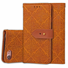Luxury Leather Case For Apple iphone4 4s 5 5s 5C SE 6 6s 7 Plus Flip Cover Wallet Bag With Card Holder Kickstand Phone Cases
