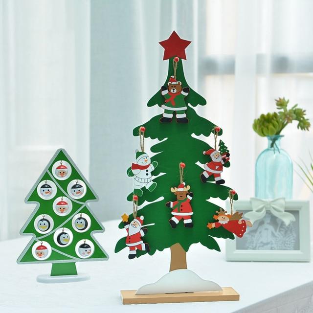 Comprar un gran rbol de navidad de madera for Adornos navidenos para oficina