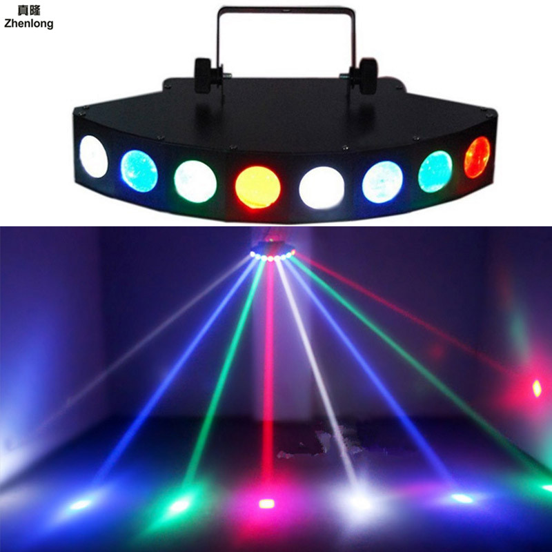 Scanner Eight Eyes LED bright CREE Beam Scan Stage Effect Light/ Eight-eyes Quad Beam bar disco party light Effect Lights rgbw led eight beam fan beam light led wedding decoration party performance party bar stage dj scanning beam effect disco lights