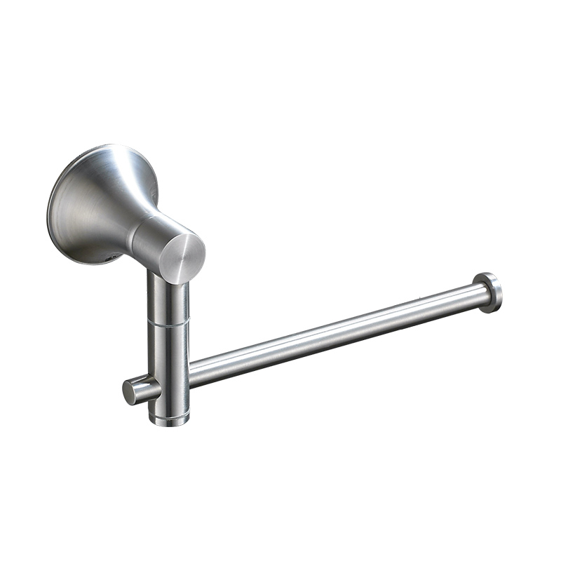 304 Stainless Steel Towel Rack Bathroom Hanging Activities Towel Bar Brushed Single Pole Bathroom Shelf Bathroom Accessories bathroom towel racks wall hook bar double pole single pole rack bathroom