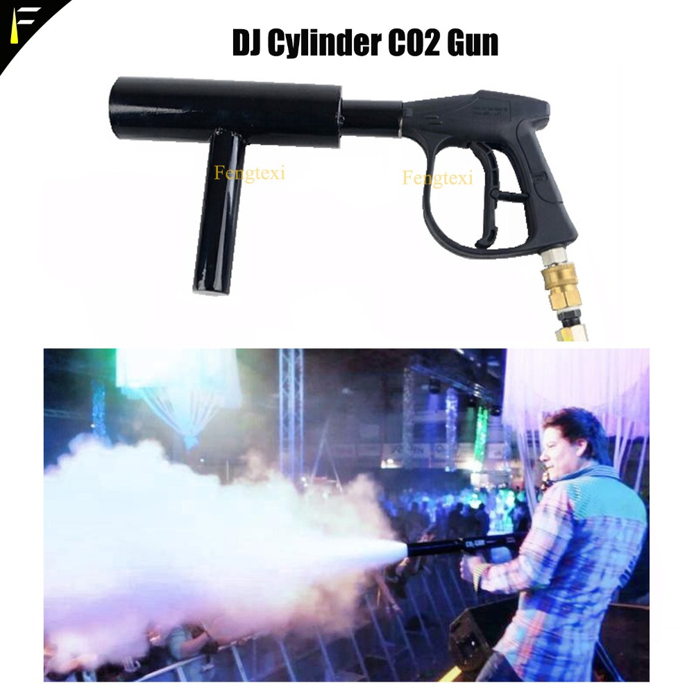 Жидкий CO2 дымоструйный пистолет белый/Цветные облака CO2 паровые пары реактивный пистолет ручной для баров Dj танцор