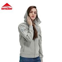 ROYALWAY Women font b Hiking b font font b Jacket b font Tracksuit hoodies Spring Outdoor
