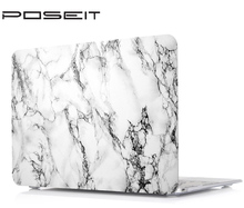 POSEIT Marble Hard Painting Case for Macbook Air Pro 11 12 13 15 Retina Colors Touch Matte Wood Laptop Cover Protect Shell