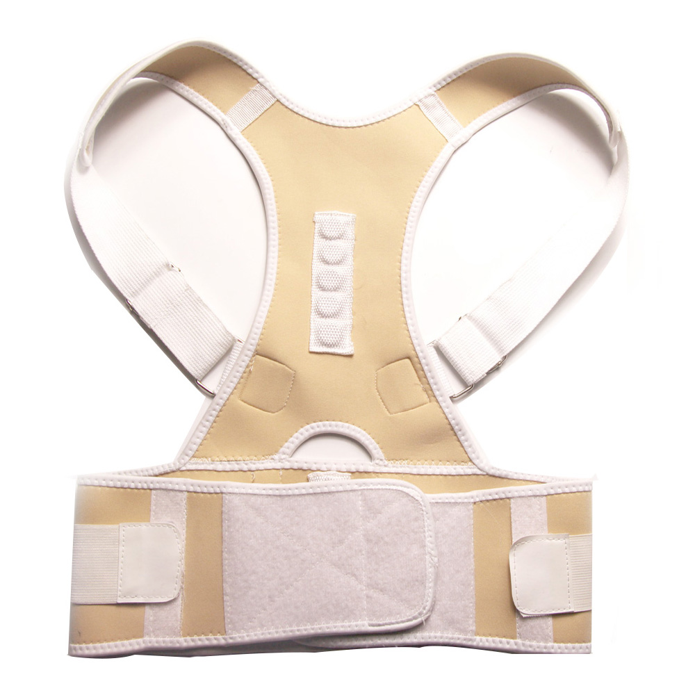 Comfortable Posture Corrector Belt with 10 High Energetic Magnets to Prevent Humpback and Pull Shoulder and Back to Correct Posture 12