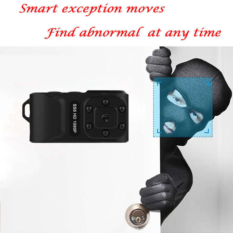 Image 3 - SS8 Mini Pro Hd 1080p Ca r Dvr Motion Infrared IR Mini Sport Dv Camera Wide-in Sports & Action Video Camera from Consumer Electronics