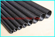 2 PCS 8mmx6mmx1000mm 100 full carbon composite material carbon Fiber tubes pipes Quadcopter Hexacopter RC Plane