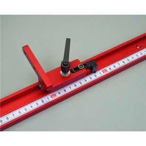 Image 4 - 400/600/800MM Universal Aluminium 45mm track Rutsche Drücker Elektrische Kreissäge Flip Tisch Holzbearbeitung DIY zubehör