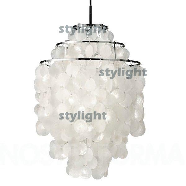 diameter 26cm shell lamps fun 2 circles diy shell pendant lamp