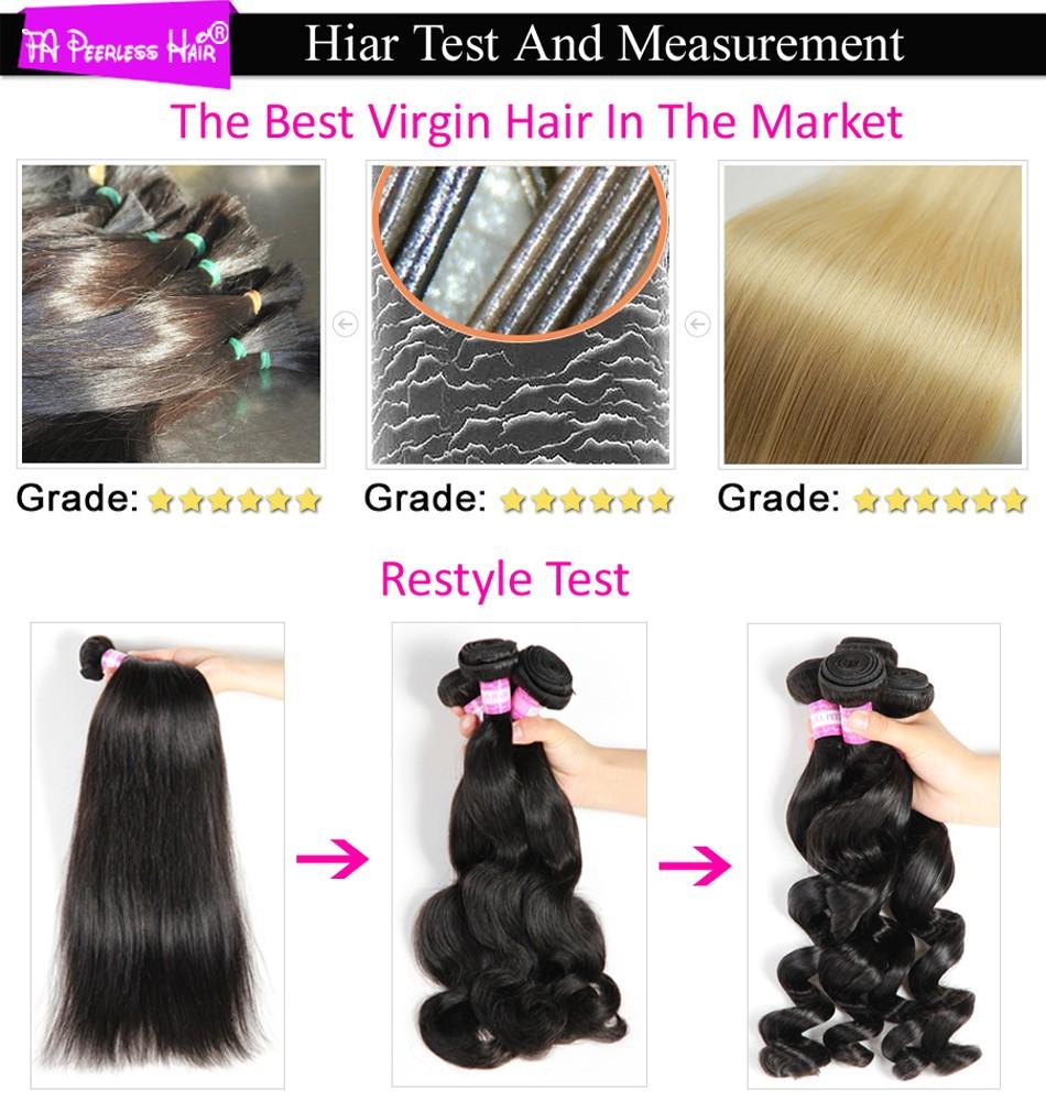 3-Queen Hair Product Peruvian Body Wave 4 Bundles Unprocessed 7A Peruvian Virgin Hair Body Wave Cheap 100% Human Hair Bundles 100G