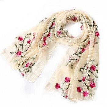 New brand women spring summer silk scarves