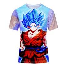 Dragon Ball Z Son Goku Vegeta Frieza Super Saiyan Cosplay T-shirts Dragonball Kakarotto Freeza Freezer Vegito Casual Tees Tops