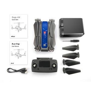 Image 3 - 2019 nuovo Mjx Bugs 4w B4w Gps Brushless Pieghevole Rc Drone 5g Wifi Fpv Con 2k Camera anti shake di Flusso Ottico Rc Quadcopter Vs F11
