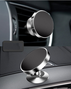 Image 4 - Magnetic Car Cell Phone Holder Automotive Air Vent Mount Phone Stand Magnet Auto Dashboard Smartphone Support Bracket Accessory