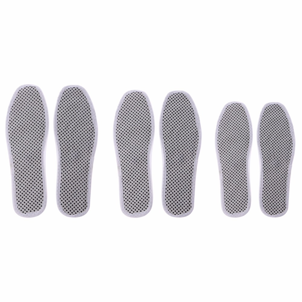 Winter Outdoor Hiking Self Heating Shoe Pad Breathable Warm Insoles Shoe Accessories for Women