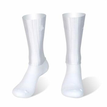 Meias esportivas antiderrapantes de silicone, meias de silicone para homens, bicicleta, corrida e ciclismo 1