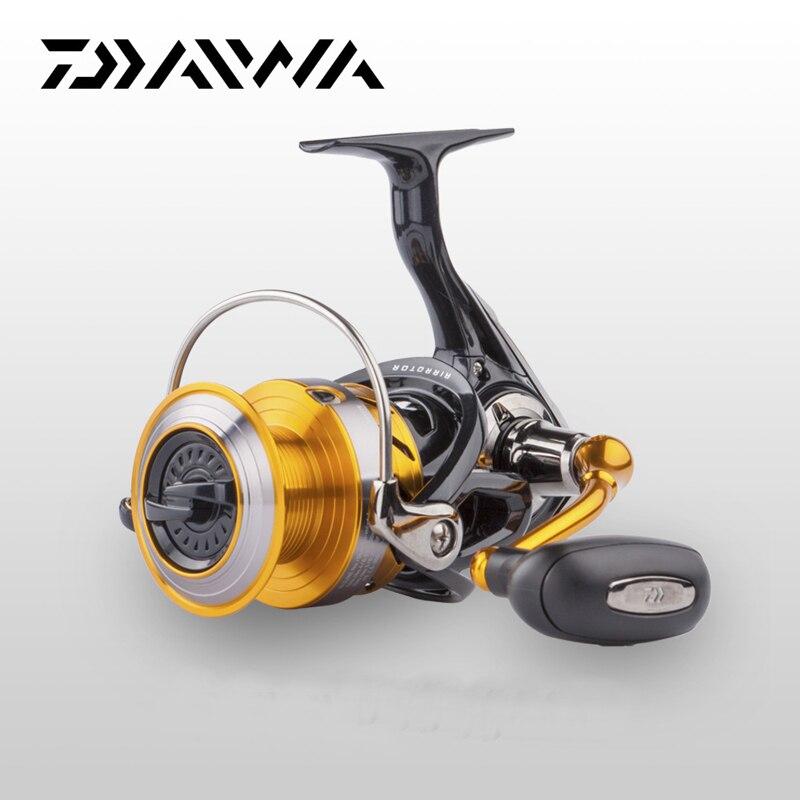 DAIWA Original Daiwa moulinet de pêche en rotation REVROS A série 5 roulement à billes eau salée eau douce carpe roue d'alimentation avec Rotor d'air