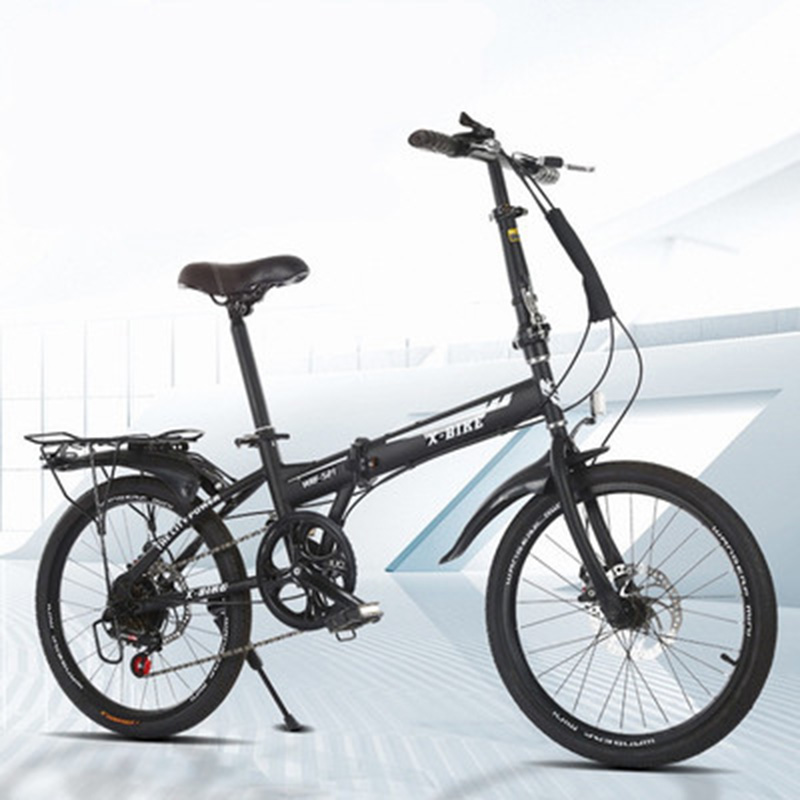 20 Inch Variable Speed Folding Bicycle Adult Male And Female Student Bicycle