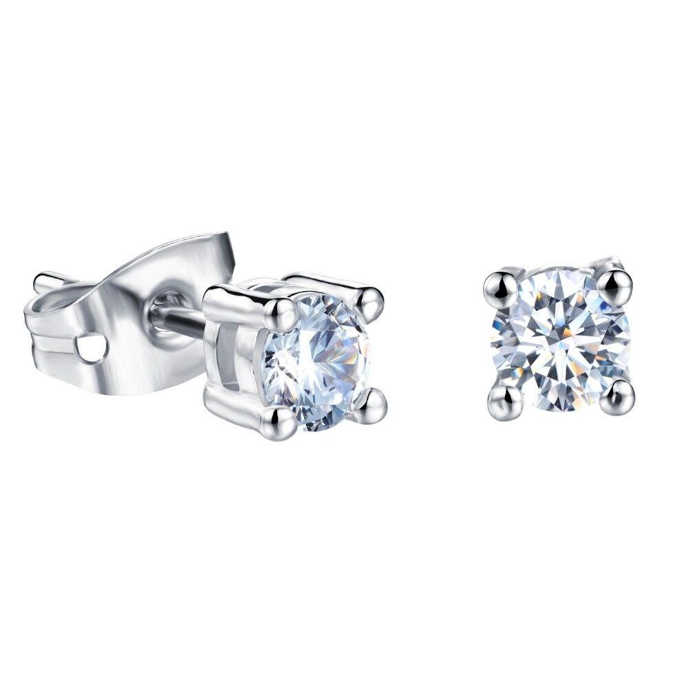 Boys Diamond Stud Earrings