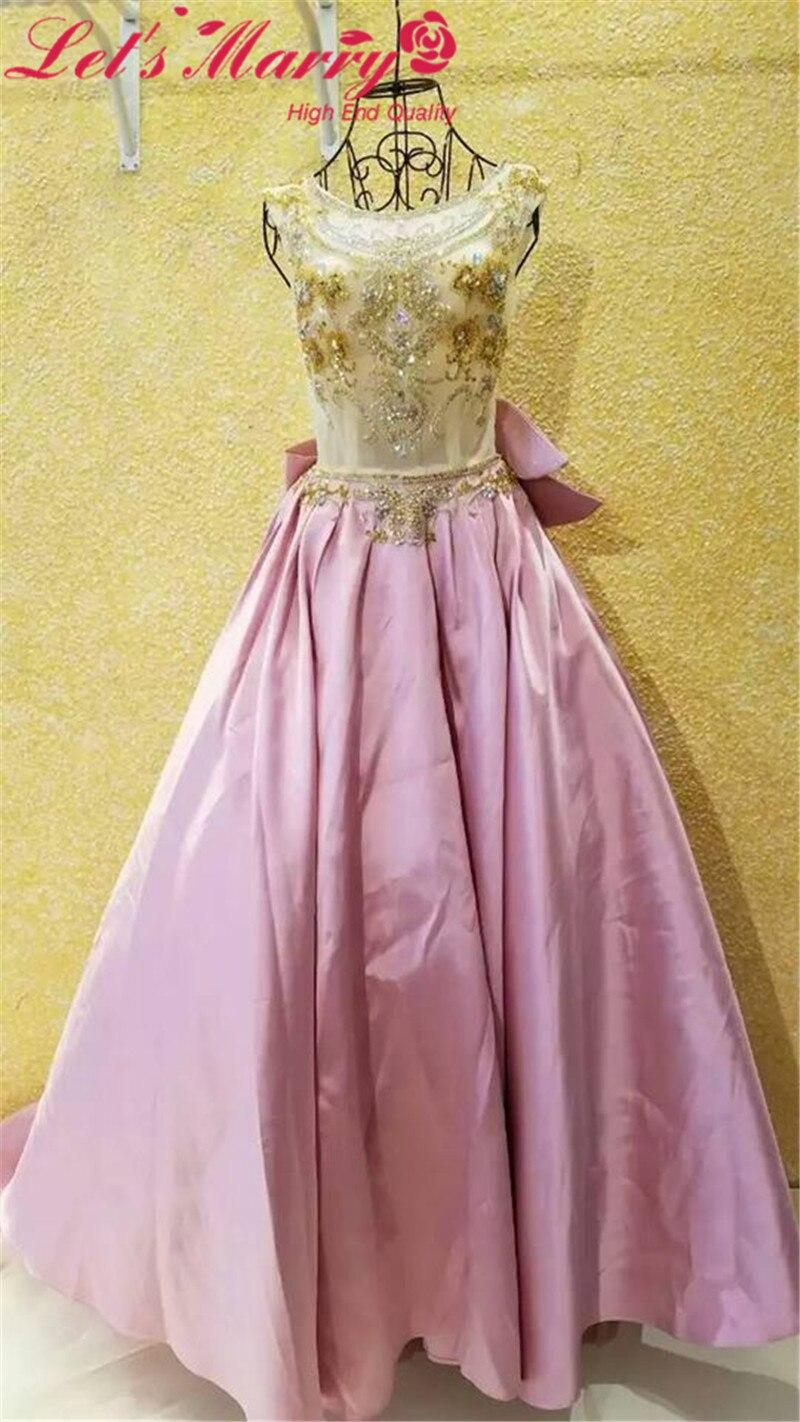 Único Vestido De Fiesta De Oro Brillante Bandera - Colección de ...