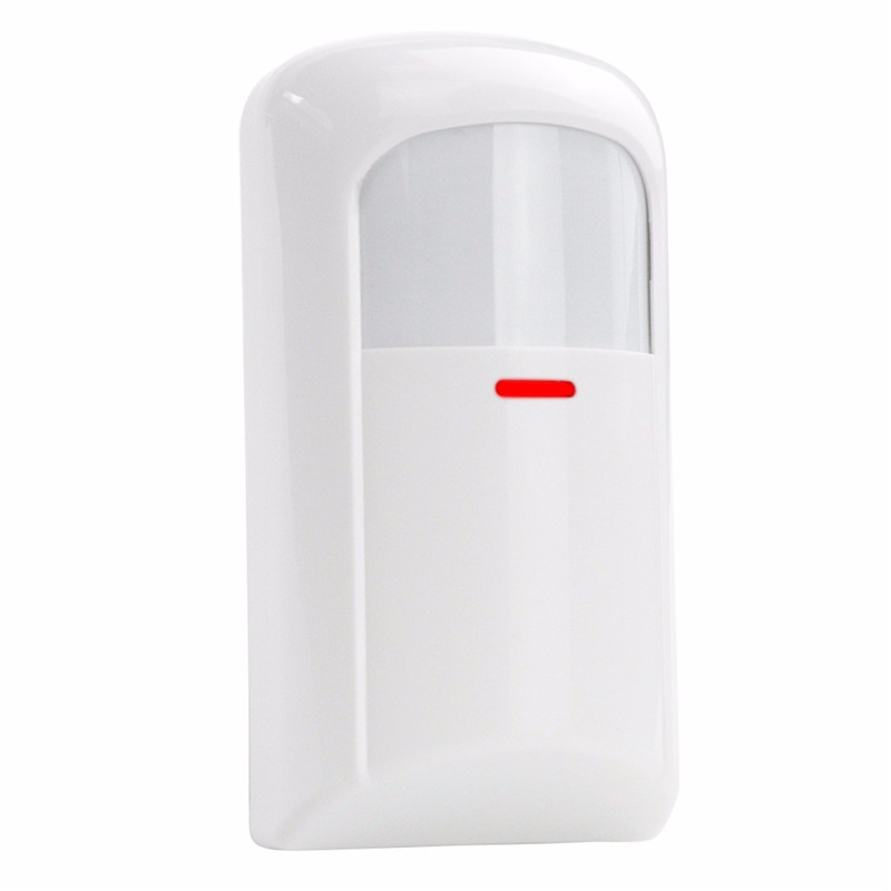 Hot Selling  Wall Mounted Wireless PIR Sensor Detector Home Security Burglar Alarm System Free Shipping high quality hot sale 100db wireless alarm system burglar safely security window door home magnetic sensor best promotion