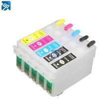 5 шт. многоразовые картриджи для Epson Stylus T1100 TX510FN чернила для принтера с чипом ARC T0731HN/T0731HN/T1032/T1033/T1034