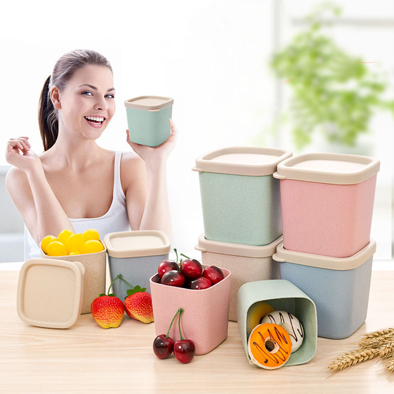 Kitchen Diorama Made Of Cereal Box: 1pcs Plastic Food Seasoning Storage Bottle Container