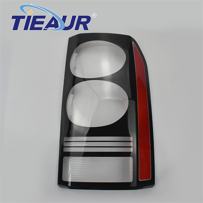 For Discovery 4 Car Taillight Lamp Clear Shell 4Doors Transparent Lens Cover Rear Large Lampshade Replacement