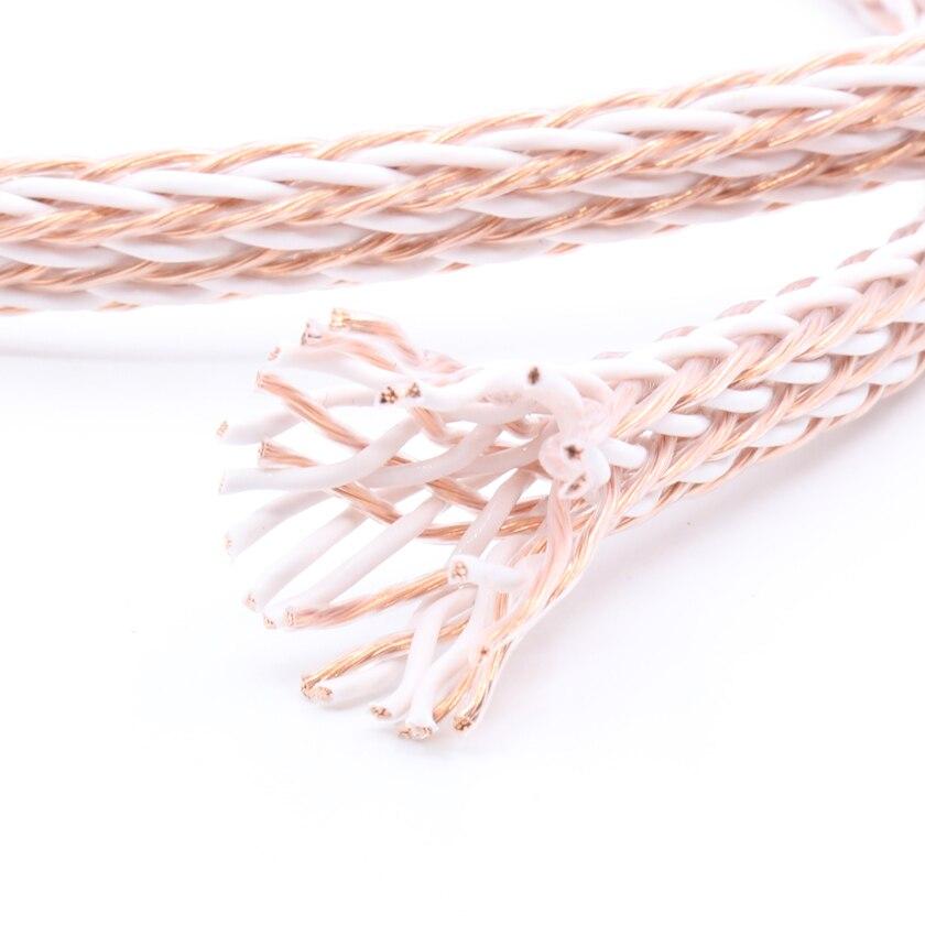 Par mètre 12 pcs Twist Câble 12TC câble haut-parleur ofc en vrac câble par mètre haut-parleur câble pour diy