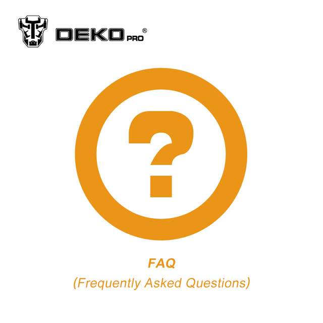 FAQ (Frequently Asked Questions) About DEKO