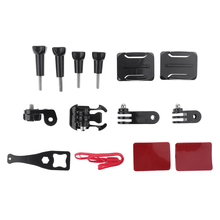 Top Selling 12 in 1 Action Camera Helmet Side Mount Kit Adhesive Accessories for GoPro