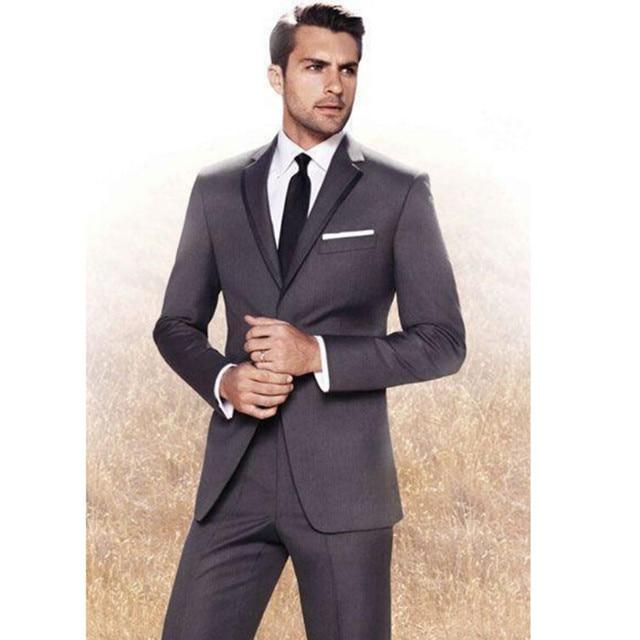 New Arrival black purple wedding suits for men tuxedos for men ...