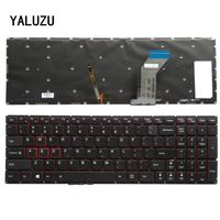 YALUZU English New Keyboard FOR Lenovo Y700 Y700 15ISK US laptop keyboard Backlight