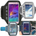 Gym Armband Bag For Samsung Galaxy Note III Note3 N900/N9005,Arm Band Pouch For Note 2 N7100 Pouch Good Quality