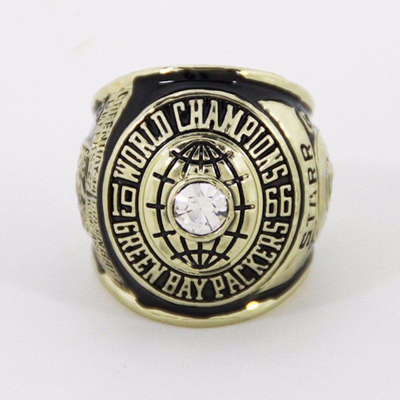 Design A Championship Ring Online | Promotion Price For Replica Newest Design 1966 Super Bowl I Green