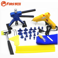 Auto Body Paintless Dent Removal Tools Kit Glue Gun Dent Lifter Bridge Puller Set For Car Hail Damage And Door Dings Repair