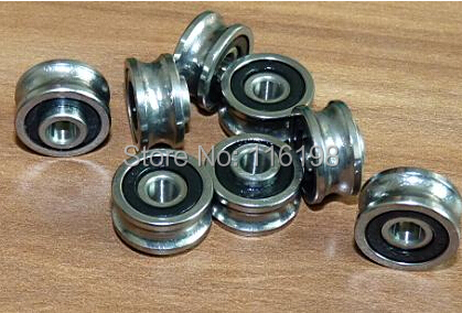 10PCS SG15 SG5RS U Groove ball bearings 5x17x8x9.75mm for embroidery machine double row ABEC5 gcr15 6036 180x280x46mm high precision deep groove ball bearings abec 1 p0 1 pcs
