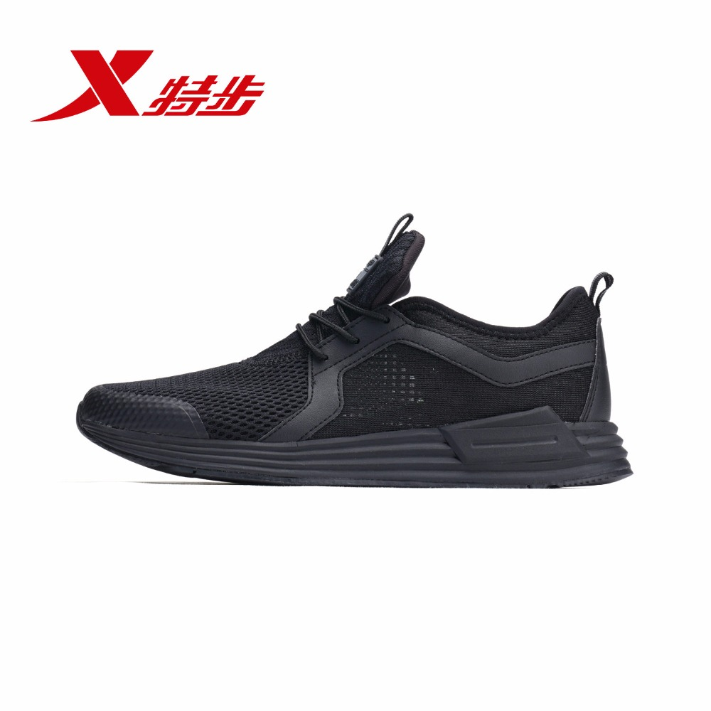 982219329721 XTEP Men Autumn and Winter Sneakers Breathable Mesh Summer Training Running Shoes for Men xtep 2016 summer running shoes for men air mesh trainers shoes athletic sports training shoes men s rubber sneakers 984219329581