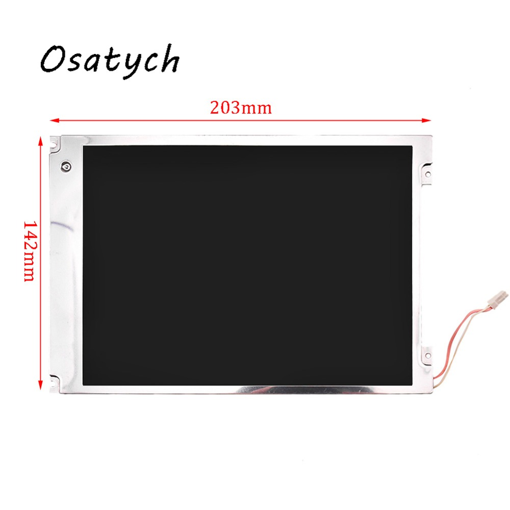 LCD Screen For AUO 8.4 inch Mindray MEC1200 PM8000 800*600 TFT Display Panel Replacement thc15a zb18b timer switchelectronic weekly 7days programmable digital time switch relay timer control ac 220v 30a din rail mount