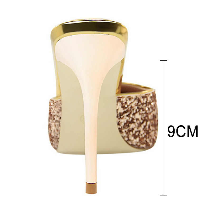 Women Pumps New Women Sandals Fashion Women High Heel Bling Party Shoes Women Wedding Shoes Kitten Heels Gold Stiletto