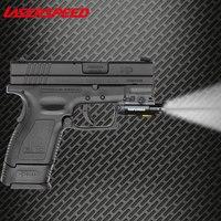 Tactical Infrared Laser Rifle Scope + Weapon Light Combo IR Hunting Laser For Gun Tabanca Lazeri Laser Para Pistola