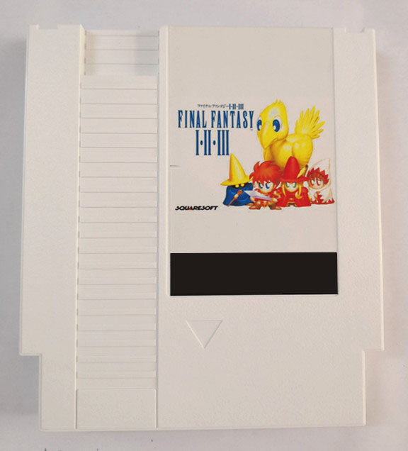 FINAL FANTASY I, II, III REMIX 6 в 1 игровой Картридж для консоли NES